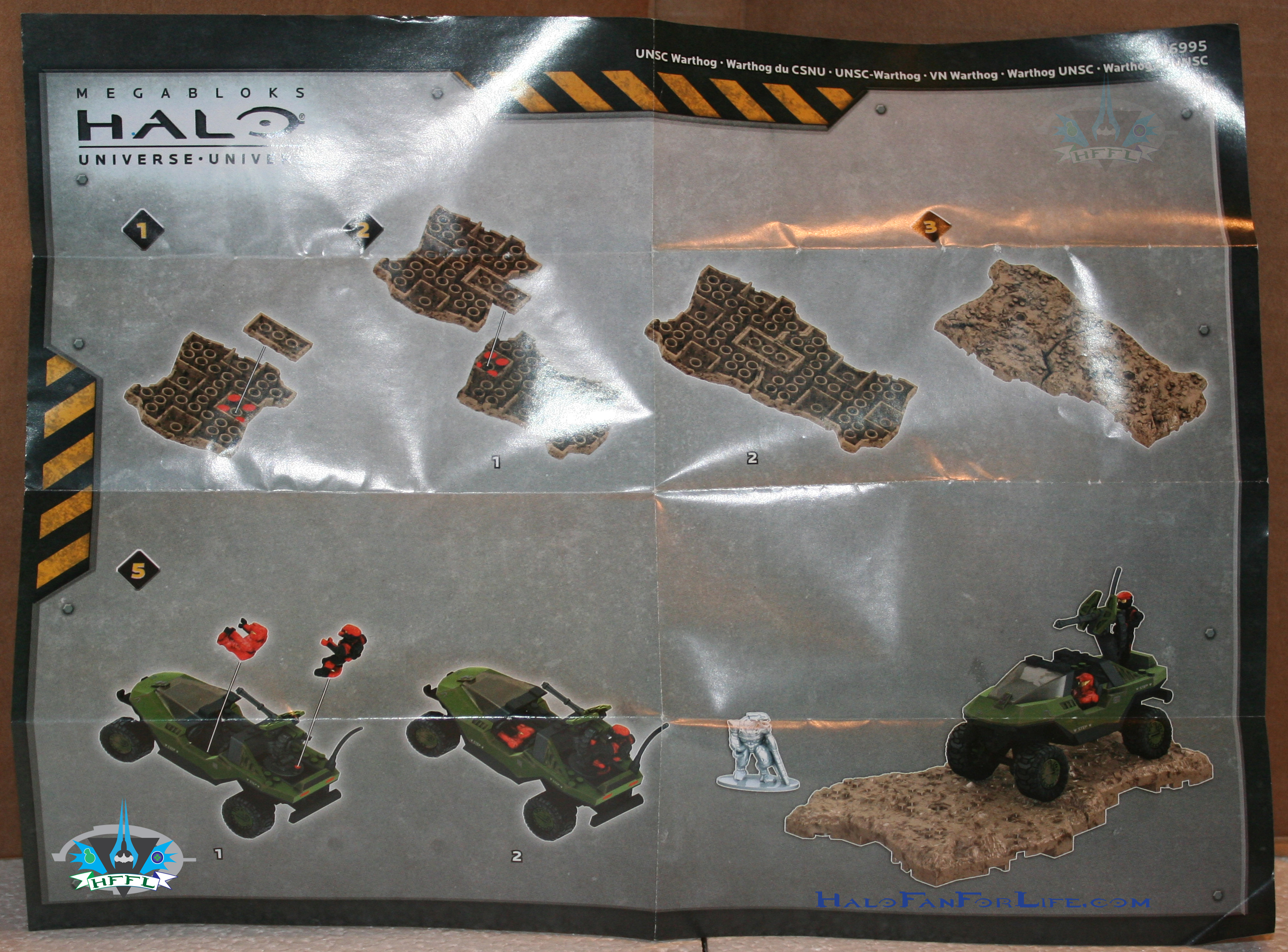 mega bloks warthog instructions