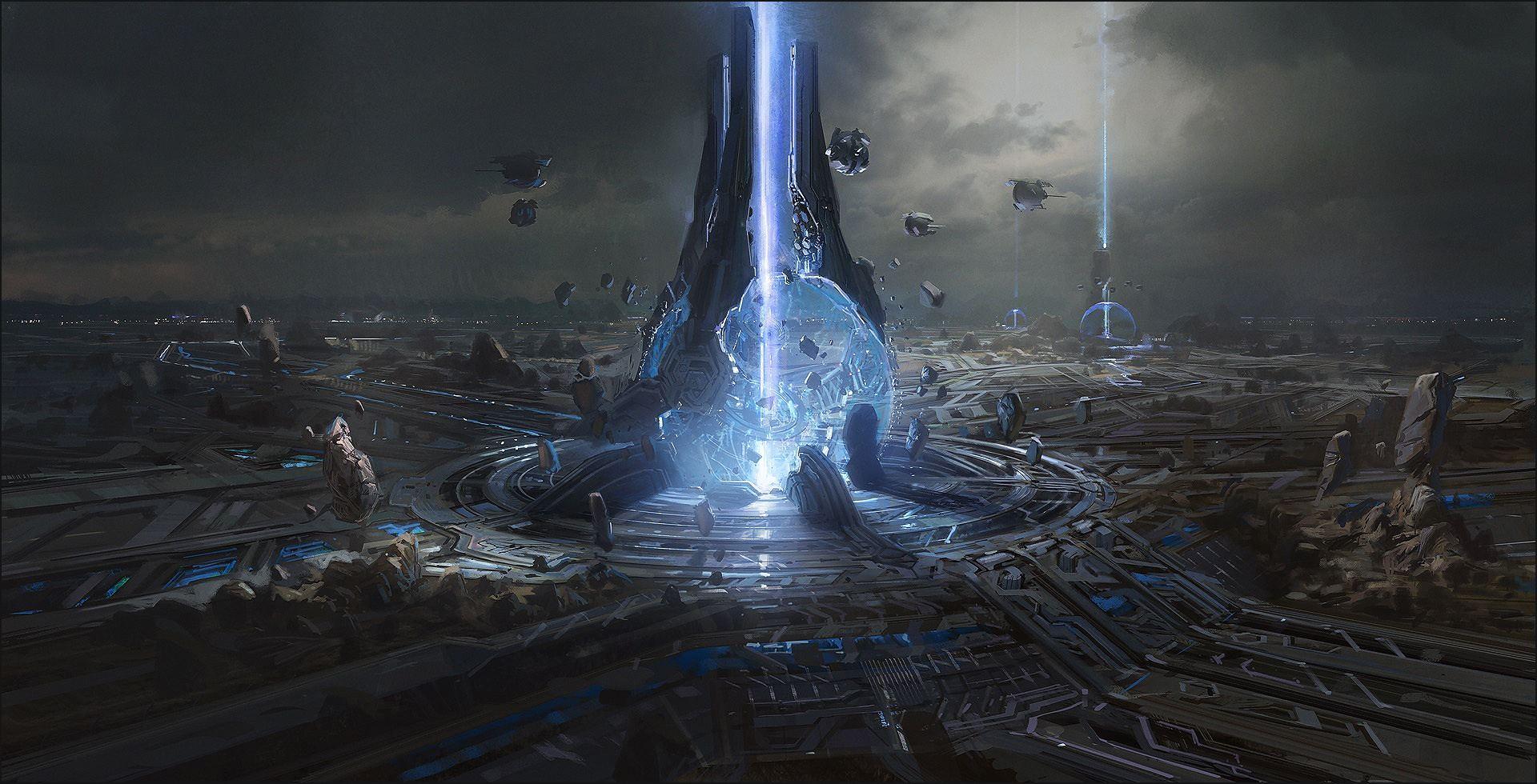 Halo 4 Concept Art by Josh Kao   Concept Art World