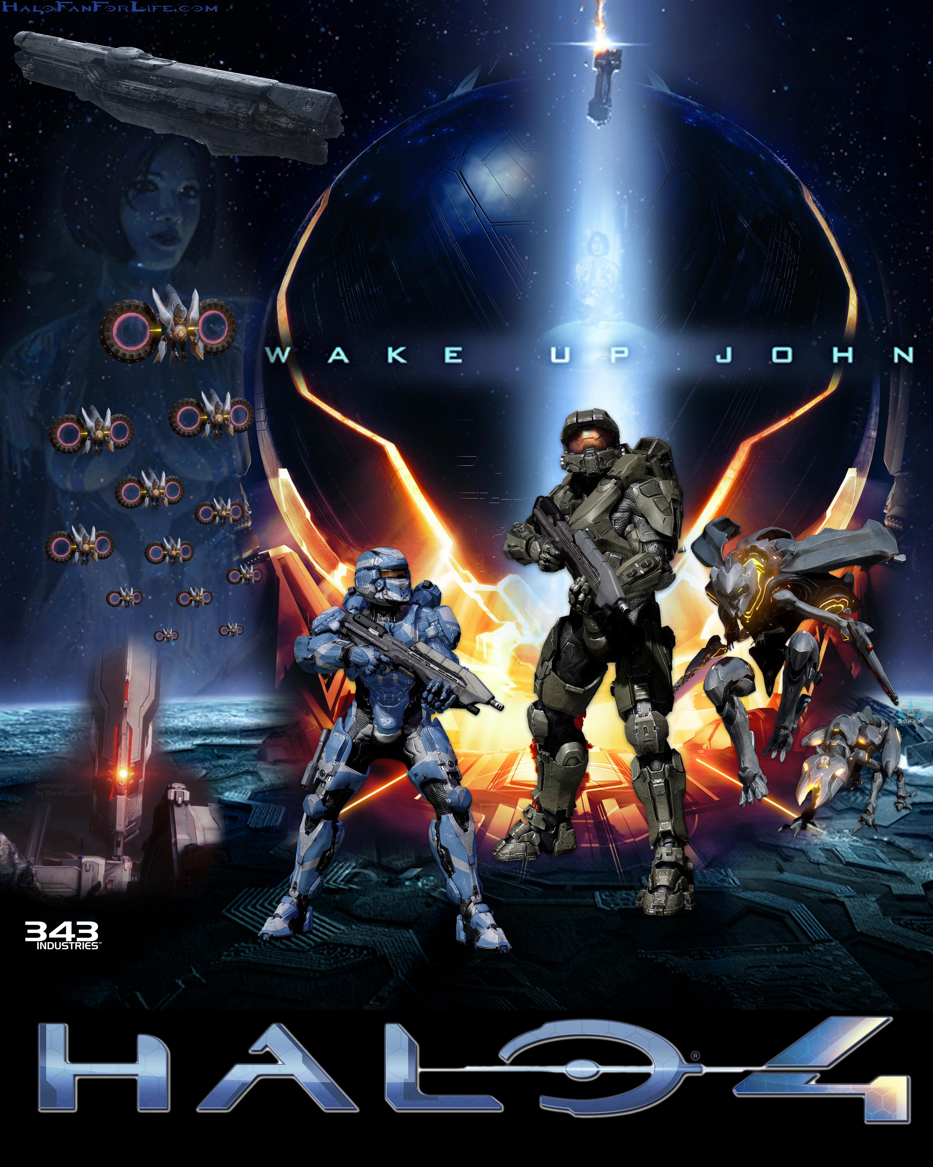 Halo 4 parody of Star Wars movie poster  | HaloFanForLife