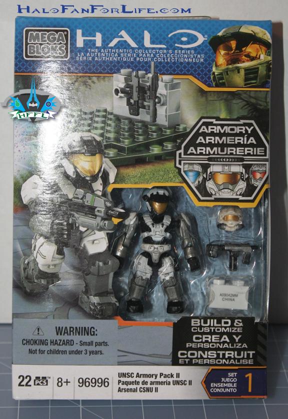 new UNSC ARMORY Pack II Mega Bloks Halo 96996