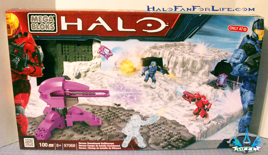Mega Bloks Toy review: Versus Snowbound Battlescape set 97068 ...
