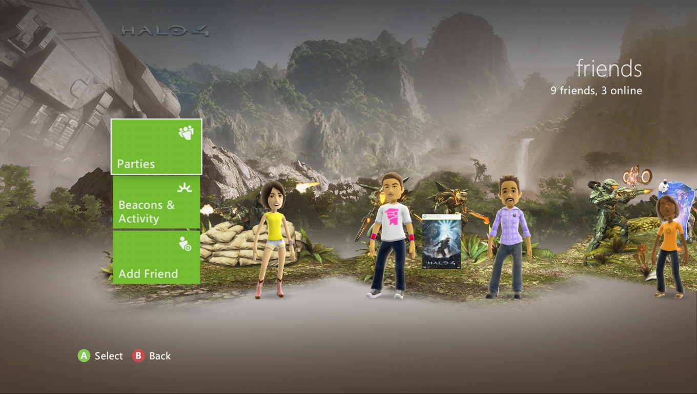 Halo 4 Infinity Campaign theme available on XBOX360 LIVE