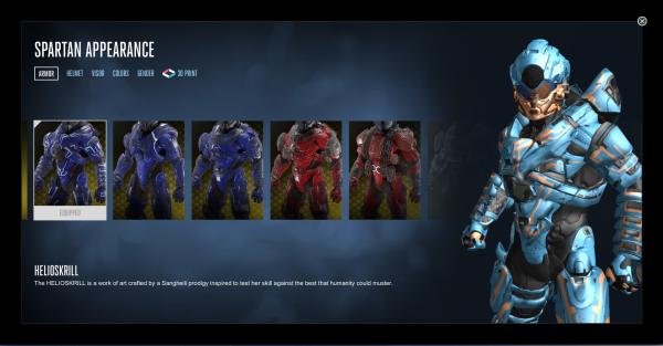 3D Spartan Start