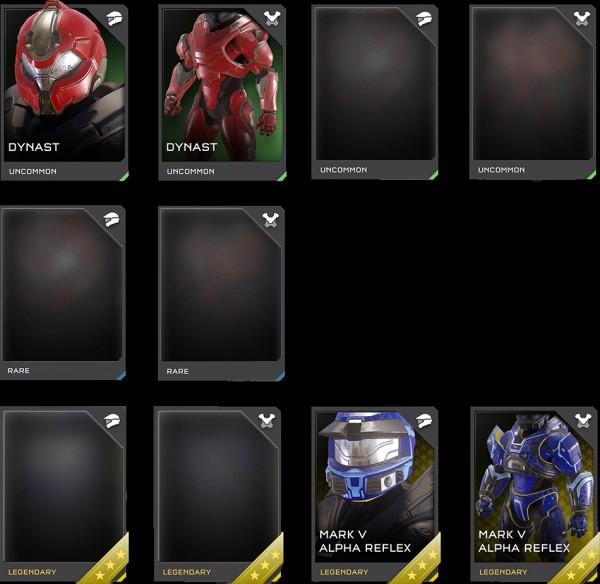 4-16 Armor set skins