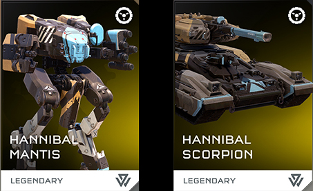 4-16 Hannibal Vehicle Skins