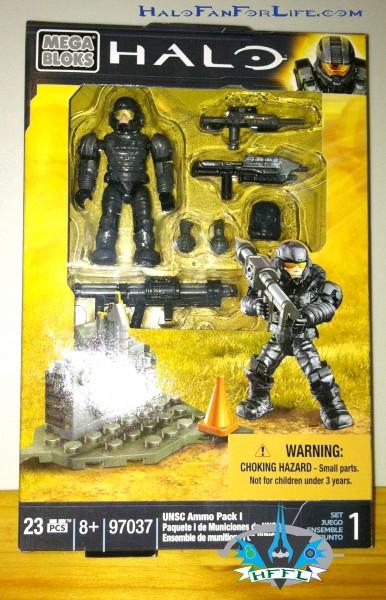 97037 UNSC Ammo Pack I BOX