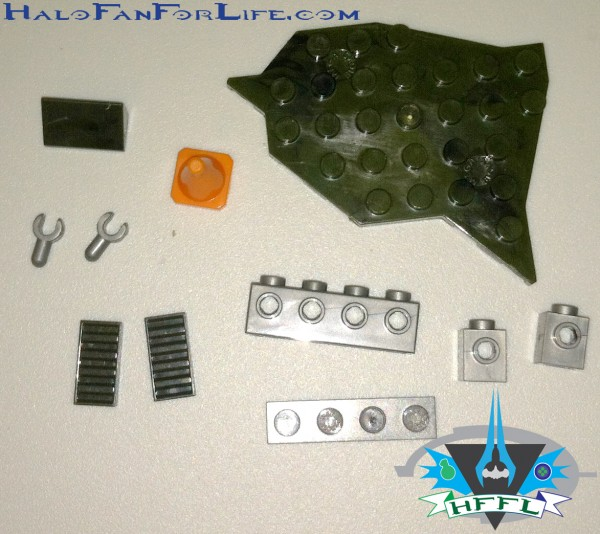 97037 UNSC Ammo Pack I Bag