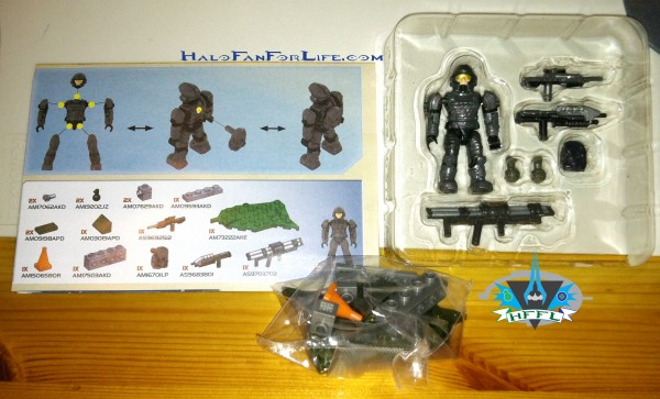 97037 UNSC Ammo Pack I Contents