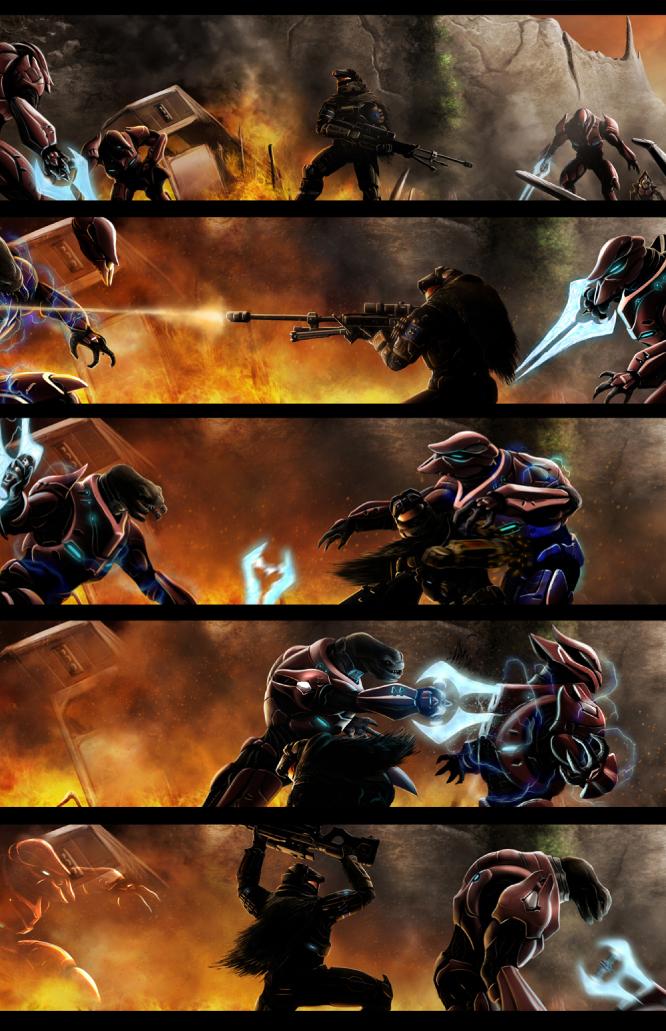 Halo Fanfiction Human X Elite Best Fan In