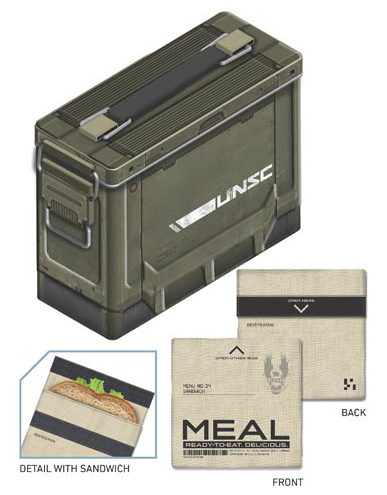 Ammo Crate tin lunch box