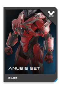 Originally a technology demonstrator for Lethbridge Industrial's successor to the M805X thruster pack, the ANUBIS was retooled as a limited-production Mjolnir variant when thrusters were integrated into all GEN2 armor.