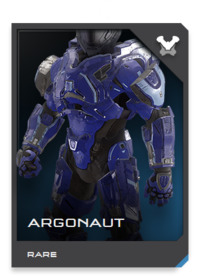 "Rarely seen outside of ONI, ARGONAUT users must undergo an extensive synchronization process to ""train"" the suit's move-by-wire reflex enhancers."