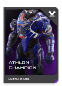 A rebuilt and retuned version of Athlon armor, the CHAMPION is a temperamental creation that requires constant maintenance in exchange for optimal performance.