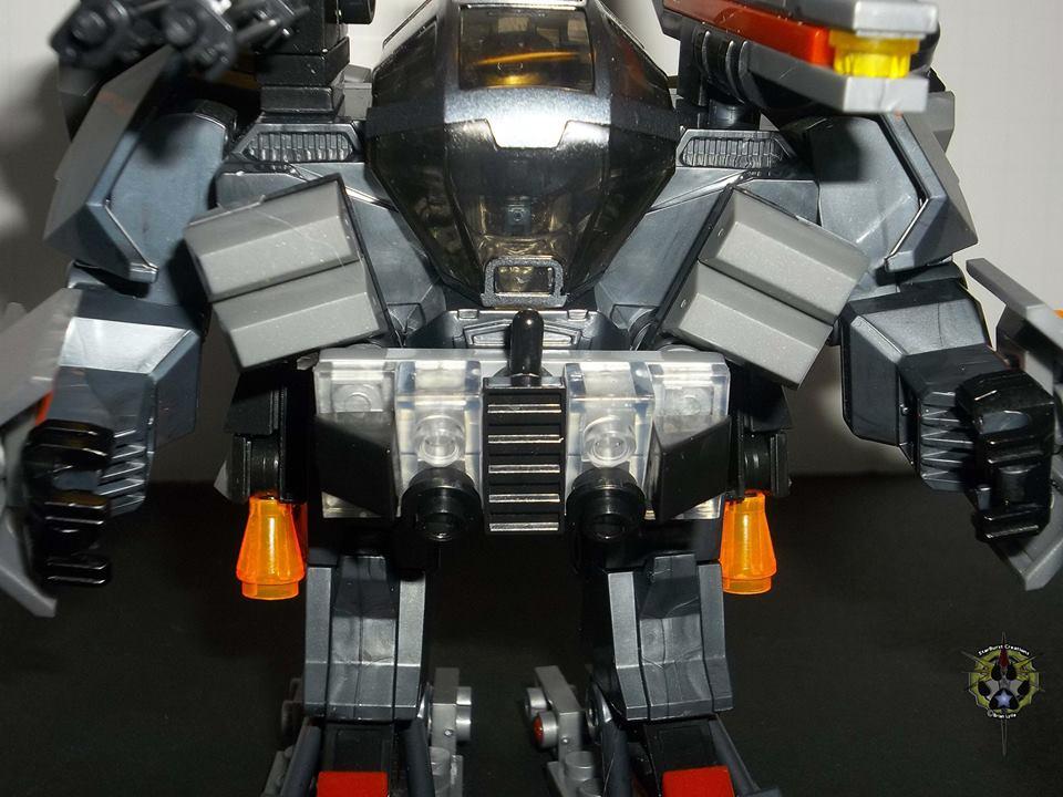 Halo toy Custom: Mega Bloks Orbital Drop Shock Cyclops