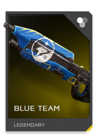 Blue Team AR skin