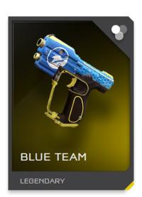 Blue Team Magnum skin
