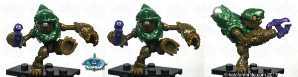 Challenger Green Grunt Foot Articulation