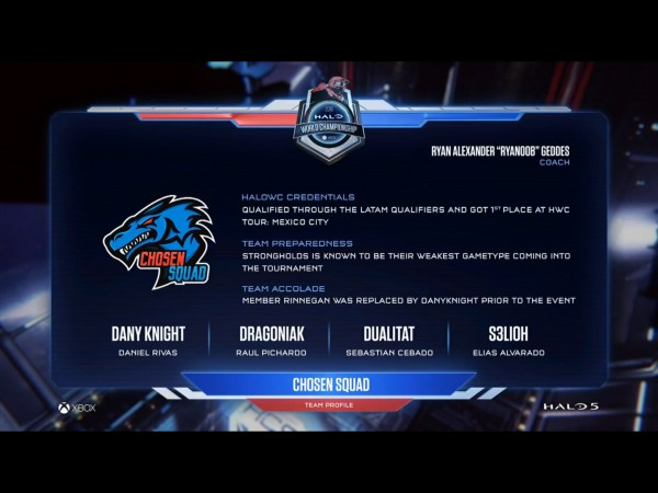 Chosen Squad profile