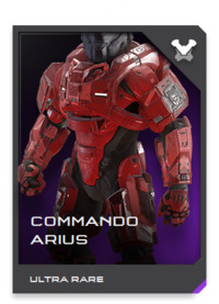 COMMANDO armor features an integrated Command Network Module (CNM) for real-time synchronization with the UNSC battlenet.