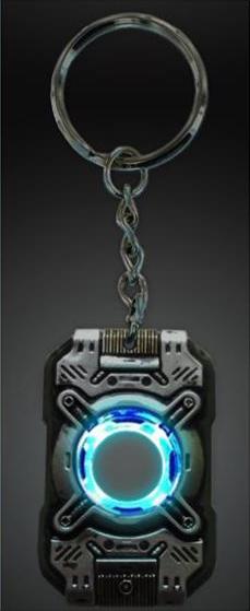 Cortan Chip Key Chain