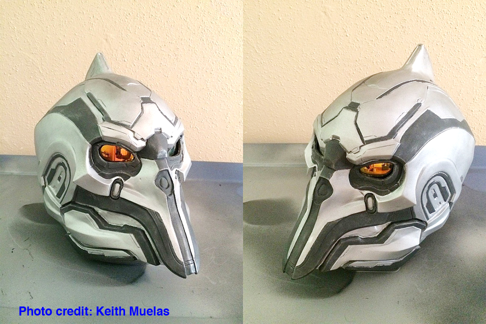 Didact Finished mask Keith Muelas