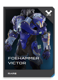 FOEHAMMER-class Mjolnir armor is a forward-looking design being evaluated for use with cutting-edge Project: SLEIPNIR combat dropships tailored specifically for use by Spartans.