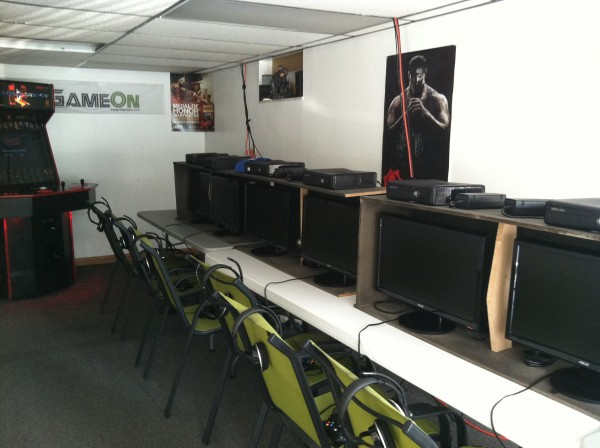 GameOn LLC  More of the set-up
