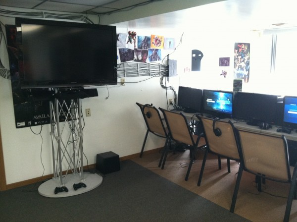 GameOn LLC Some of the set-up