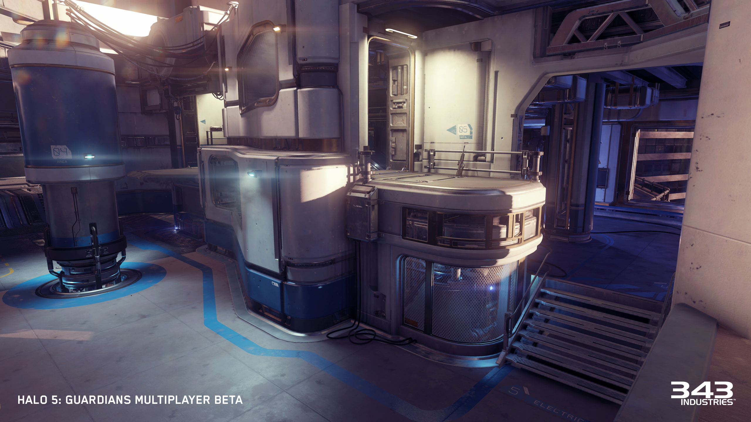 halo  official images multiplayer maps empire and fathom  - the beta designhguardiansempireestablishingelectricalbetacomparison