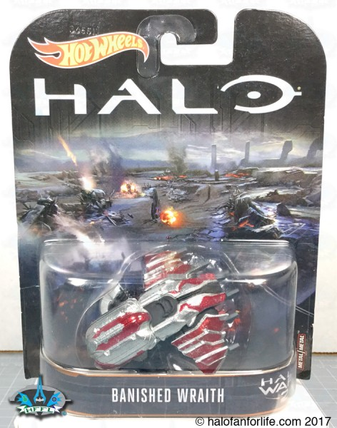 HW Halo Carded Banished Wraith
