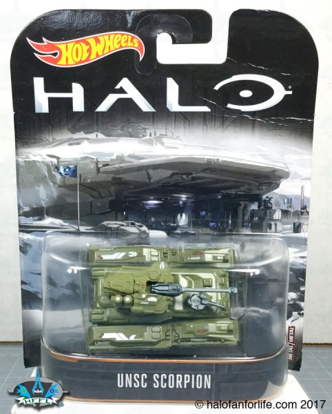 HW Halo Carded Scorpion