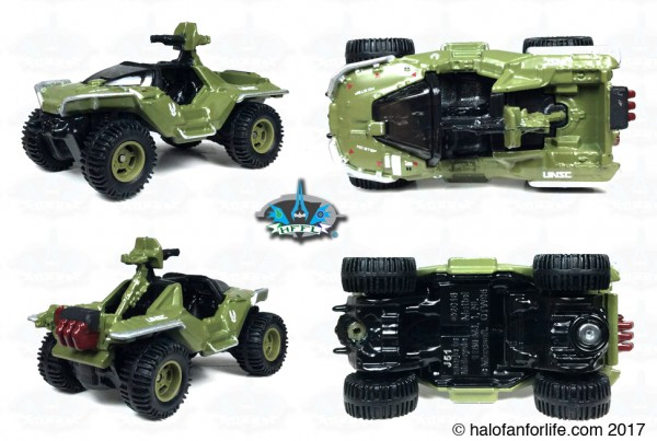 HW Halo Carded Warthog views