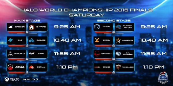 HWC Saturday Finals