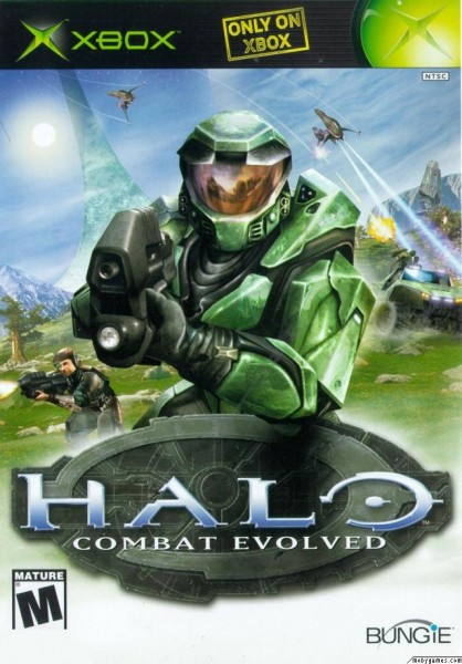 Halo 1 CE Cover