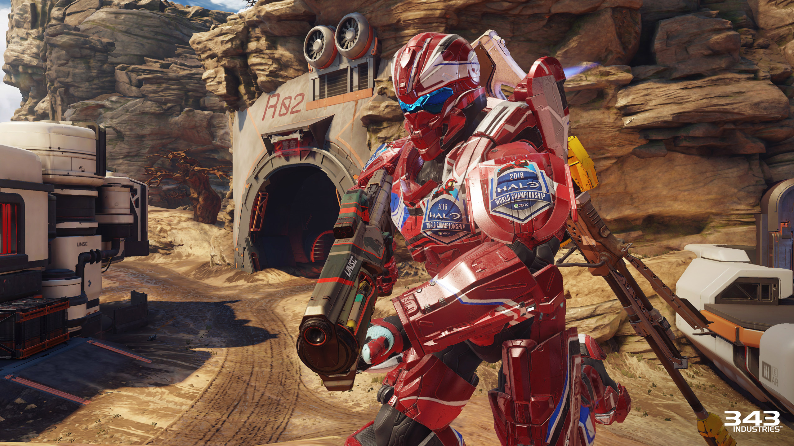 Halo 5 Guardians Challenger Loaded Up