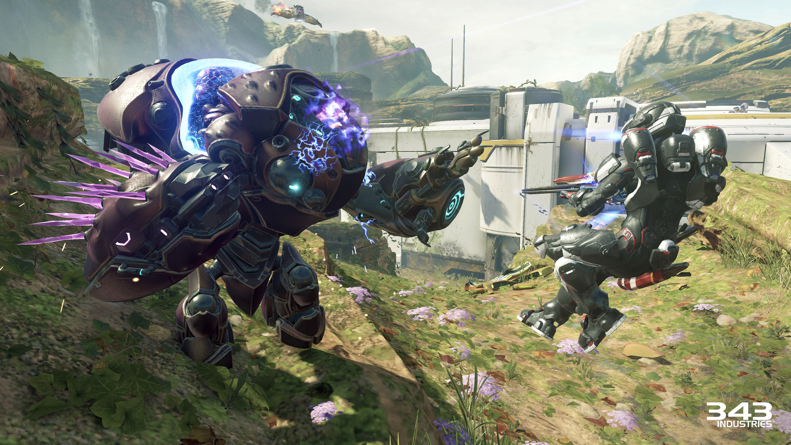 Halo 5 Guardians Warzone Attack on Sanctum Grunt Goblin
