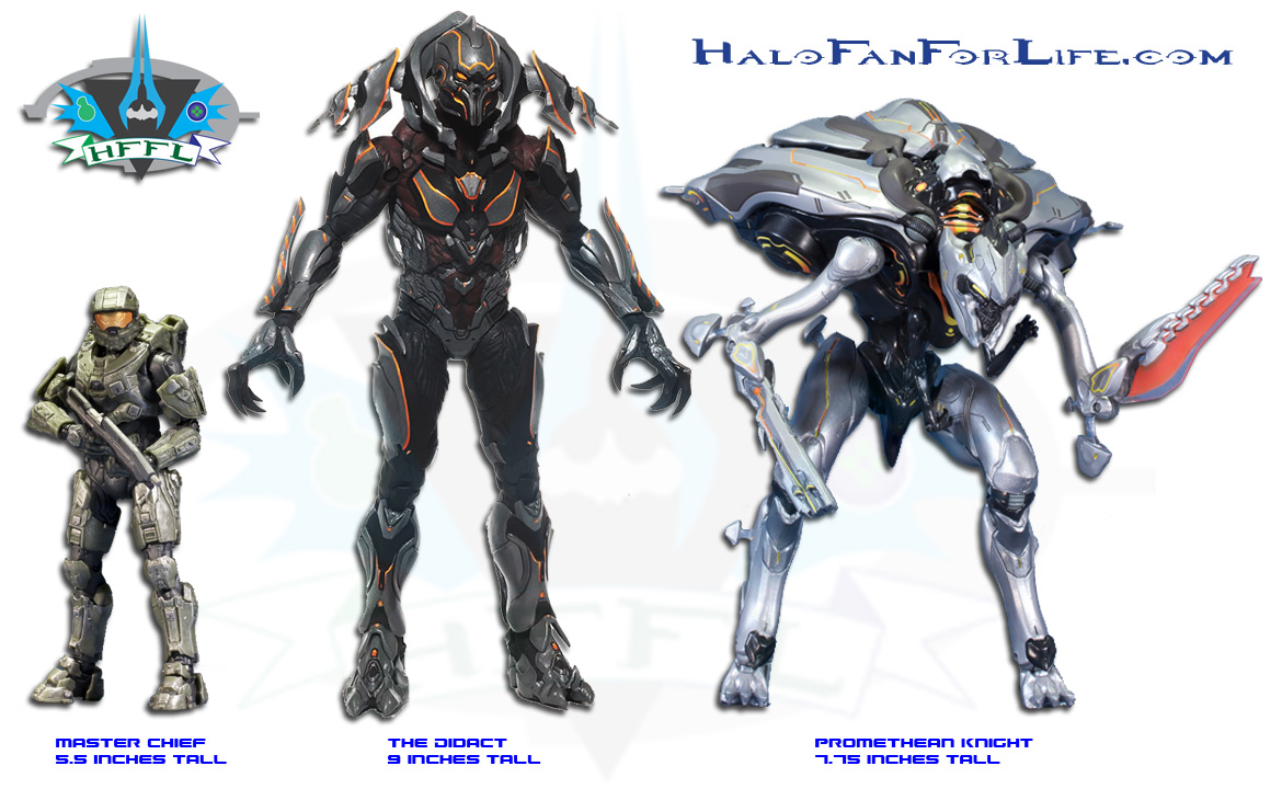 Action Figure Size Comparison Of Chief Didact And