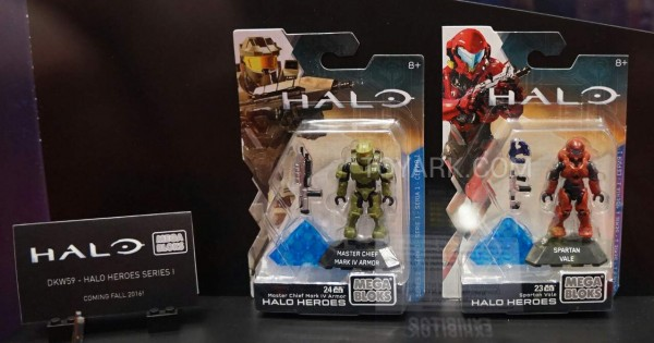 Halo Heroes S1 carded