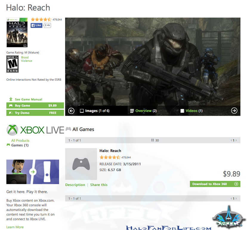 Halo Reach SALE-HFFL wm