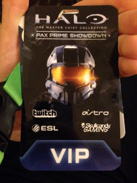 Halo VIP badge