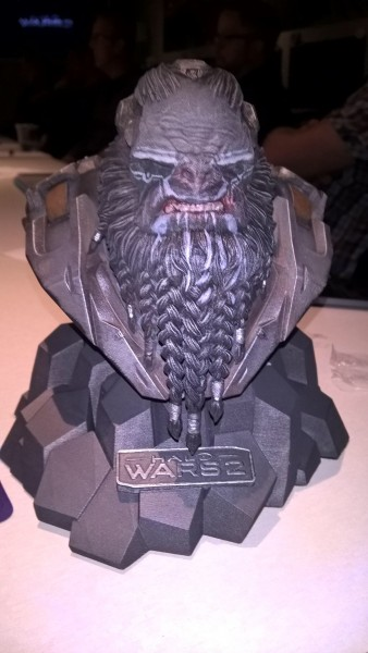 Halo Wars 2 Brute leader bust -2
