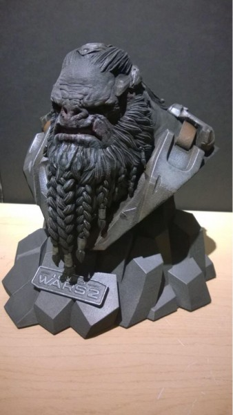 Halo Wars 2 Brute leader bust