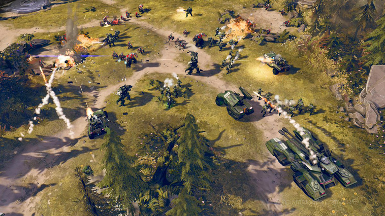 Halo Wars 2 Woodland battle RS