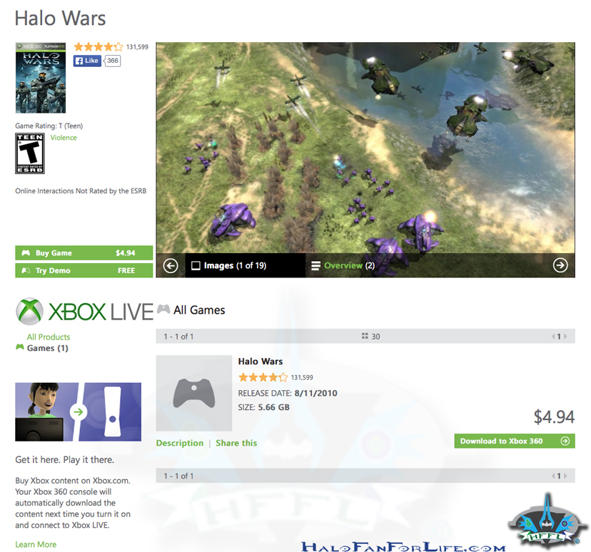 Halo Wars SALE-HFFL wm