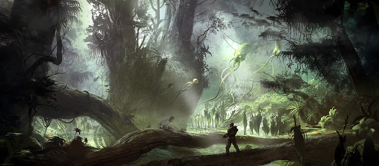 Addition to my Halo 5 Guardians theory…the concept art ...