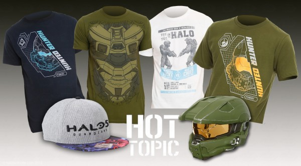 Hot Topic Halo merch-wm