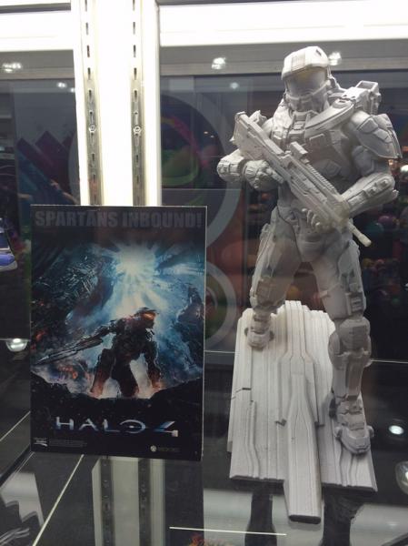 Kotobukiya Halo Master Chief ArtFX Statue prototype