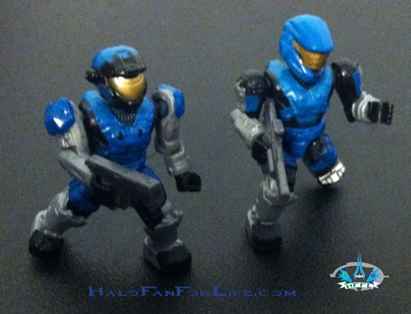 MB Blue Rockethog minifigs