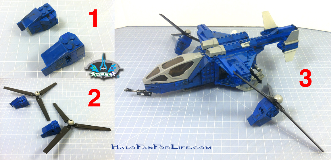 MB Blue Series Falcon 10th steps rotars