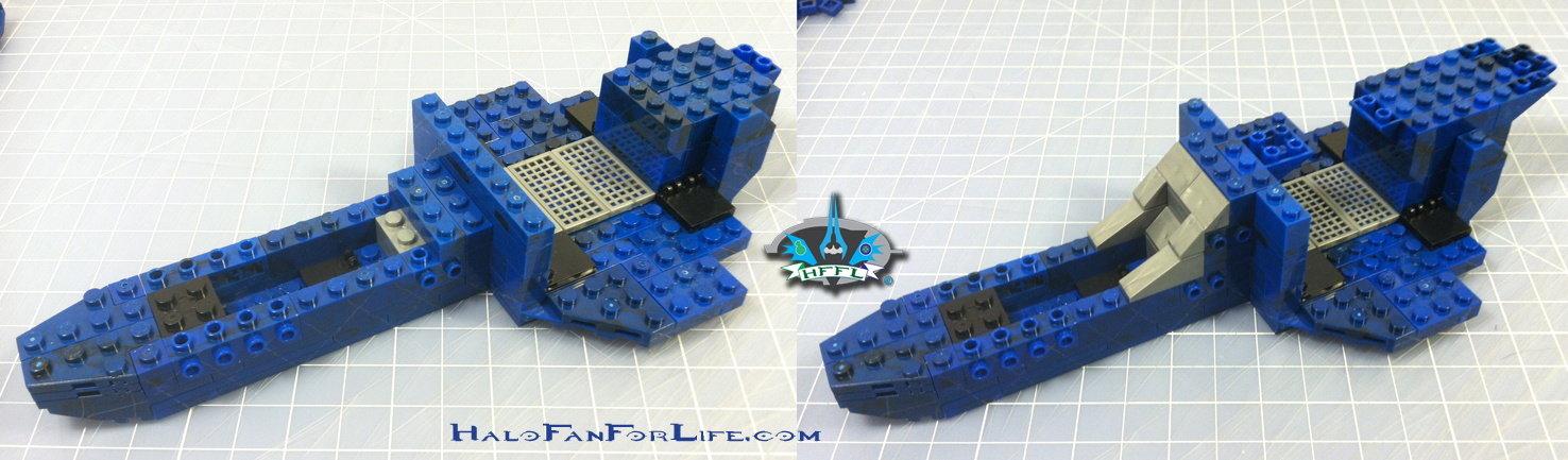 MB Blue Series Falcon 2nd steps cockpit-body